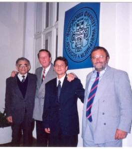 Odbrana doktorske disertacije 2001.